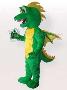 Green Stegosaurus Adult Mascot Costume  Green Stegosaurus Adult