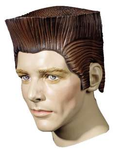 Adult Crew Cut Rubber Wig   Halloween Costume Wigs   15DU1356