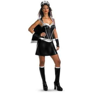 Storm Sexy Deluxe Adult Costume   Includes Dress with attached cape
