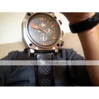 € 7.29   Gladiator   Reloj Pulsera para Hombre con Correa de Cuero