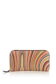 Paul Smith Accessories  Large Zip Swirl Purse by Paul Smith