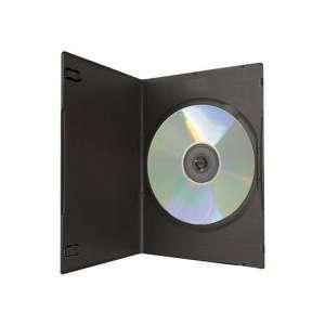 5mm Super Slim Single Black DVD Cases 400 Pack Electronics