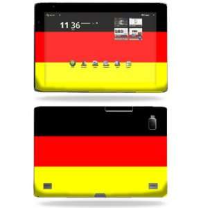 Skin Decal Cover for Acer Iconia Tab A500 German Flag Electronics
