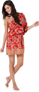 ANGIE ONE SHOULDER DROP TUNIC DRESS > Womens > Clothing > Dresses