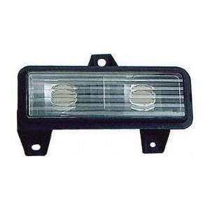 89 91 GMC JIMMY PARKING LIGHT LH (DRIVER SIDE) SUV, Below Single Head