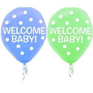 New Baby Girl Arrival Baby Shower Balloon   10ct Toys & Games