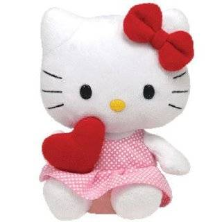 Ty Beanie Babies Hello Kitty St. Valentines Day Gift   Red Heart