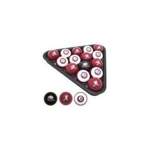 Crimson Tide Officially Licensed NCAA Pool and Billiard Balls Set