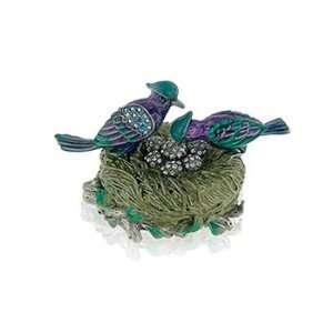 Swarovski Crystal Pave Love Bird Jeweled Box GAD696 PP