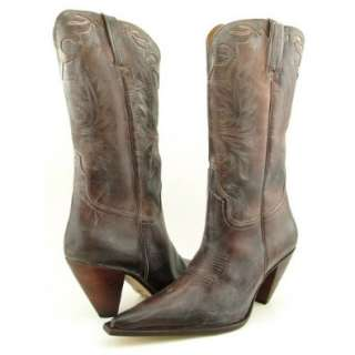 Horse I4568 Womens Western Cowboy Boots Shoes Leather Crazy Horse