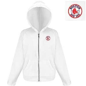 Boston Red Sox MLB Hoody Womens Hooded Sweatshirt by Antigua
