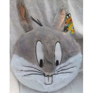 Warner Brothers Plush Looney Tunes Bugs Bunny 14 Round Pillow Kids