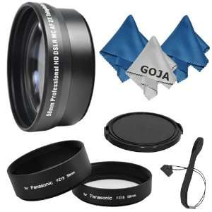 Lens Tube Adapter+ Cap+ Cap Keeper+2 Microfiber Cleaning Cloths+ 1