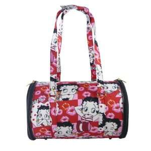 Betty Boop Cat Dog Large Tote Pet Carrier   Collage