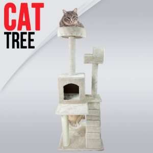 50 Cat Tower Tree w/ Condo Scratcher Furniture Kitten