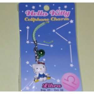 Hello Kitty Cellphone Charm   Libra Toys & Games
