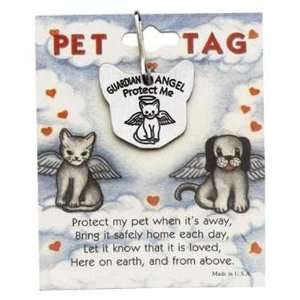 Of cats Angel Protection Pet Pewter Charm Cat Medal