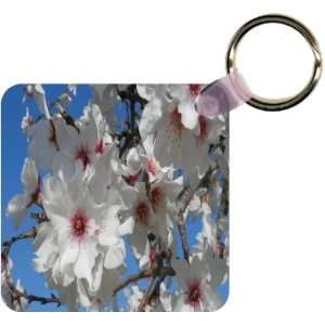 Cherry Blossom Flower Close up Art Key Chain   Ideal Gift
