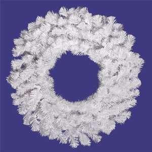 36 Snow White Artificial Christmas Wreath   Unlit