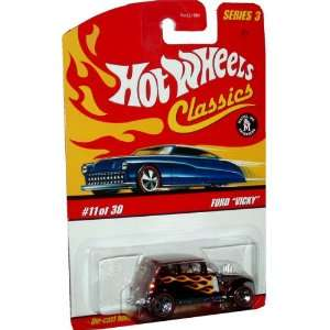 Series 164 Scale Die Cast Metal Car # 11 of 30   Classic Ragtop Ford