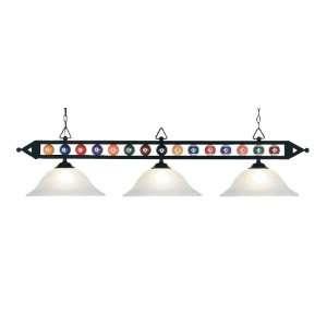 Designer Classics White Faux Alabaster Table Light