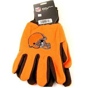 Cleveland Browns 2 Tone Jersey Gloves