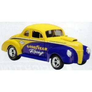 Racing 1940 Ford Street Rod Car Diecast Collectible