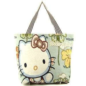 large Hello Kitty happy face canvas college student Bag