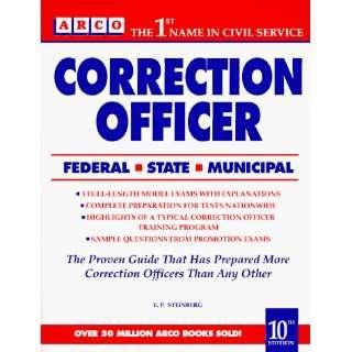 Correction Officer (9780671892302): Eve P. Steinberg