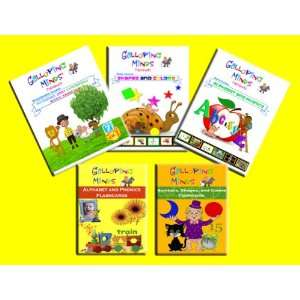 Alphabet and Phonics DVD, Shapes and Colors DVD, Numbers and Counting