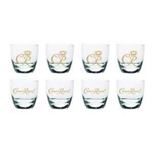 Licensed Crown Royal Small Rocks DOF Glasses Set