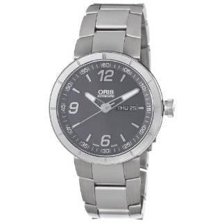 Oris Mens 73576514174MB TT1 Black Day Date Dial Watch Oris Watches