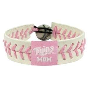 MLB Minnesota Twins Mom Pink Baseball Bracelet  Sports