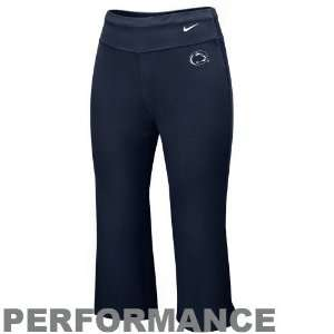 Blue Dri FIT Performance Capri Pants