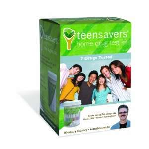 TeenSavers TSK 0700 Home Drug Test Kit with Parental Support Guide for