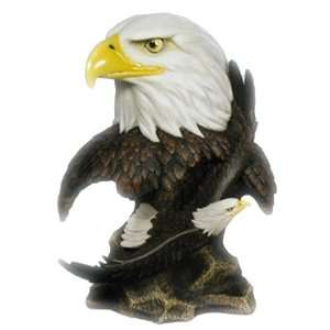 Bald Eagle Bust Statue Figurine