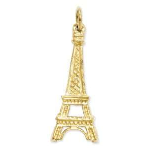 14k Eiffel Tower Charm Jewelry