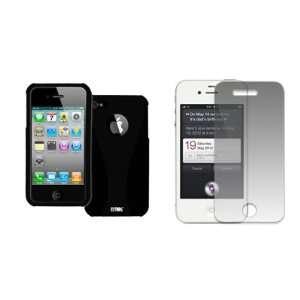 EMPIRE Apple iPhone 4 / 4S Black on Black Duo Shield