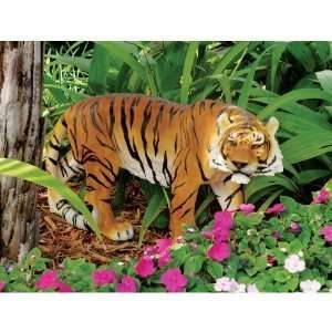 Indonesian Wildlife Tiger Sculpture Statue Figurine Home & Kitchen