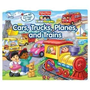 Fisher Price Little People Lift the Flap Cars, Trucks, Planes and