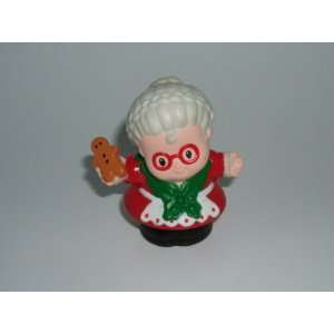 Little People Mrs. Santa Claus 2001 Mattel Replacement Figure