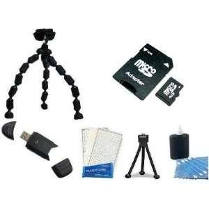 Speed SD Memory Card + High Speed 2.0 USB SD Card Reader + Flexible