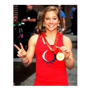 SHAWN JOHNSON Gymnastics Olympic Champion unsigned photo