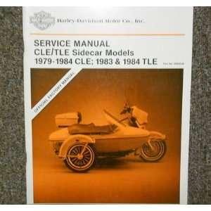 Harley Davidson CLE Sidecar Models Service Manual: harley davision