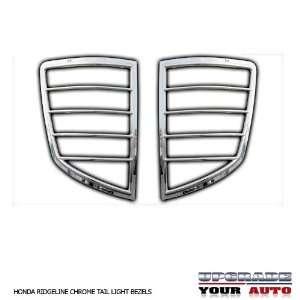 2006 2012 Honda Ridgeline Chrome Tail Light Bezels