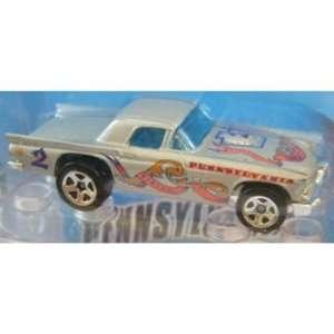 Hot Wheels Connect Cars 1957 Thunderbird Pennsylvania Toys & Games