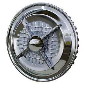 15 Chrome Four Bar Hubcaps: Automotive