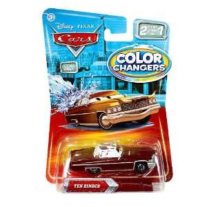 Color Changers TEX DINOCO Disney / Pixar CARS 2 Paint Jobs