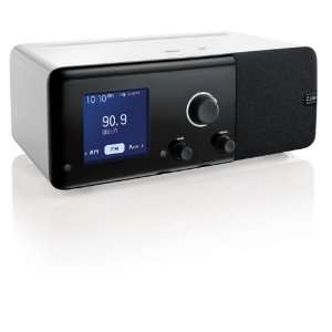 Cue Radio Model r1 Table Radio with iPod iPhone Dock and Dual Alarms