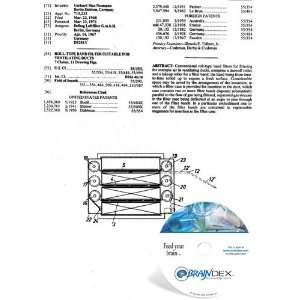 NEW Patent CD for ROLL TYPE BAND FILTER SUITABLE FOR VENTILATING DUCTS